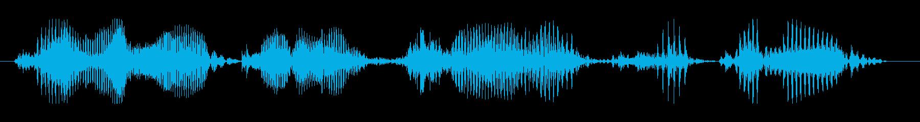 攻撃目標を確認の再生済みの波形