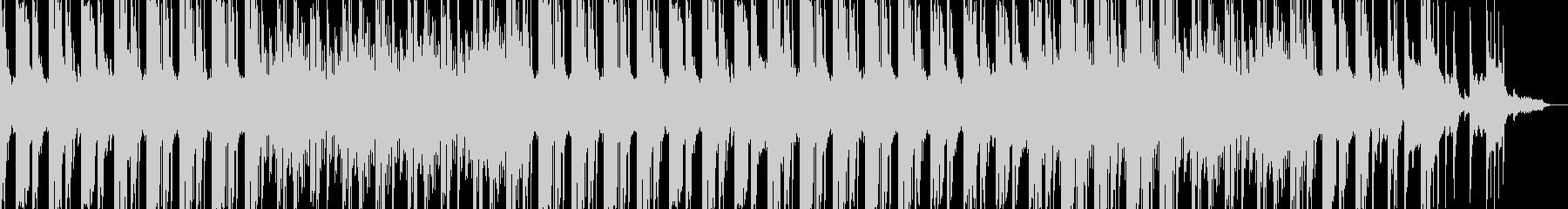 シンセリフと綺麗なピアノのEDMサウンドの未再生の波形