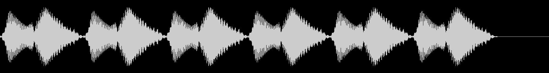 ブブブブブブ(携帯・スマホのバイブ音)の未再生の波形