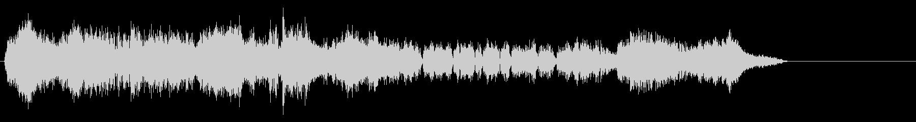 シンセ、複数の短波無線信号が同時に...の未再生の波形