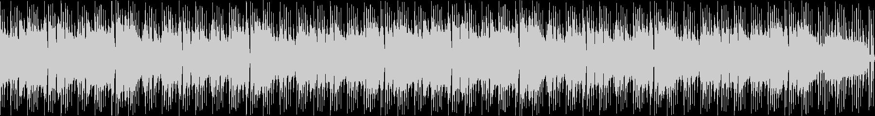 ループ可能なピアノロックの未再生の波形