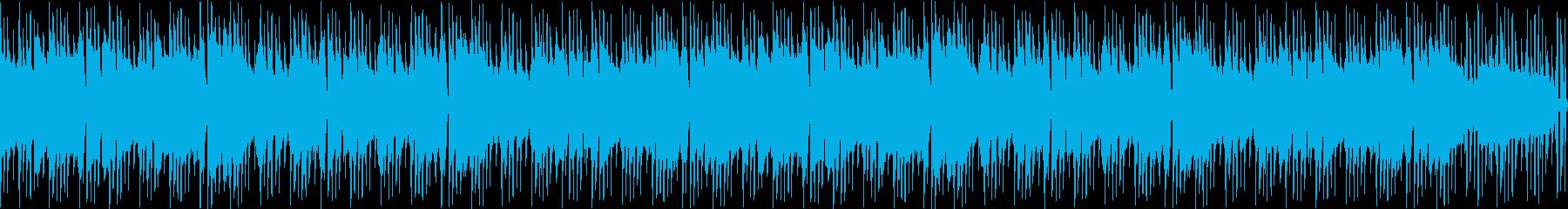 ループ可能なピアノロックの再生済みの波形