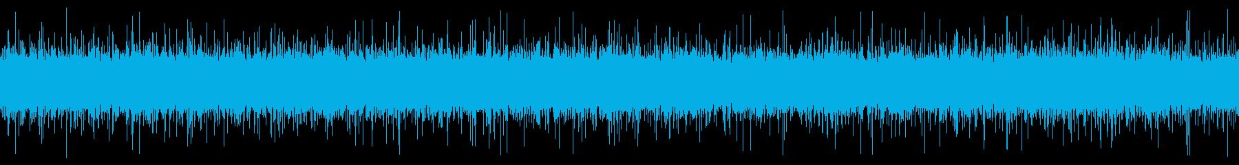 用水路の音【田舎、秋、昼、近距離】ループの再生済みの波形