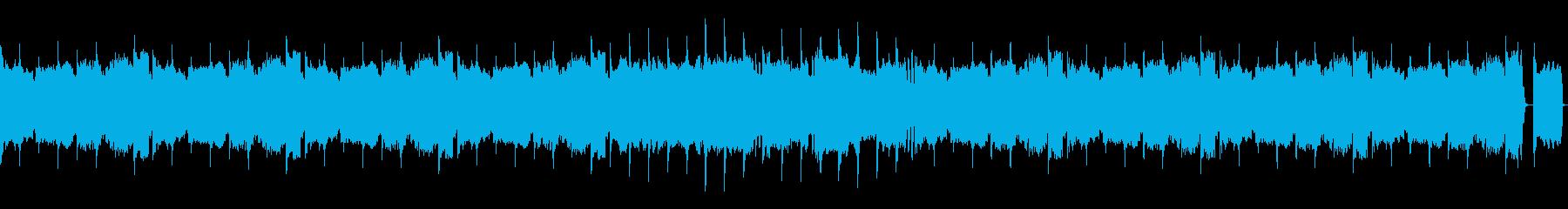 (8bit風、ドラム抜)サンバの再生済みの波形