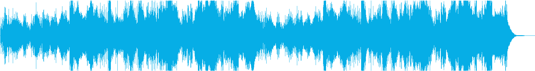 The quietness of battle BGM serious battlefield's reproduced waveform