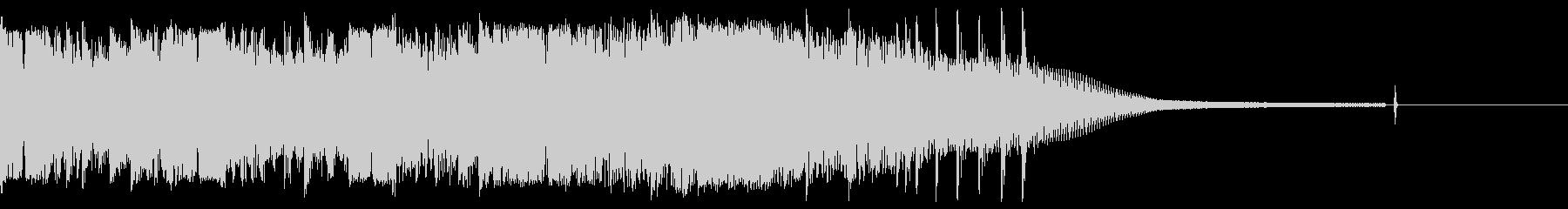 カントリー風ギターイントロ-01の未再生の波形