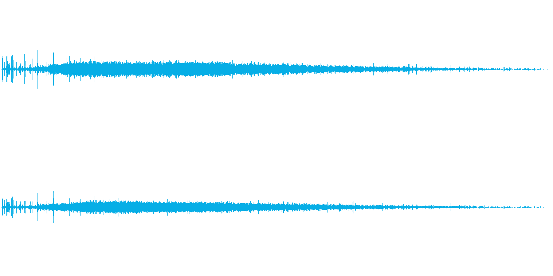 炭酸(シュワー)の再生済みの波形