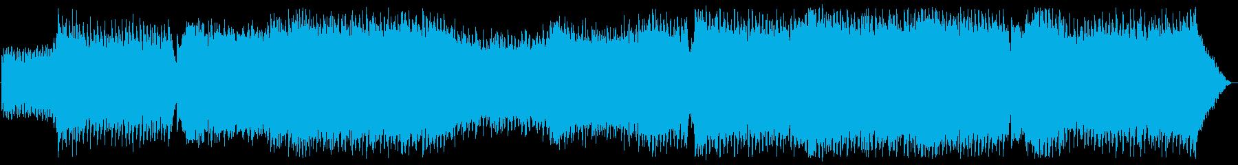 YouTube・EDM・ノリノリ・明るいの再生済みの波形