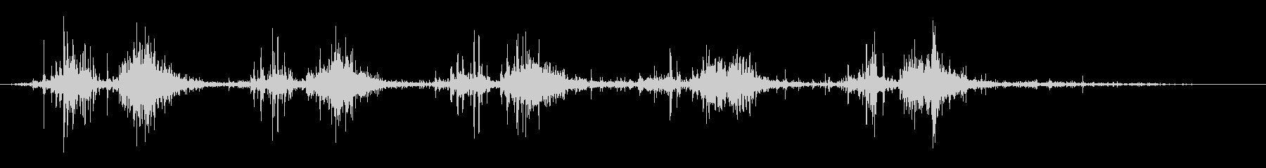 タブレッド菓子出す音・振る音2の未再生の波形