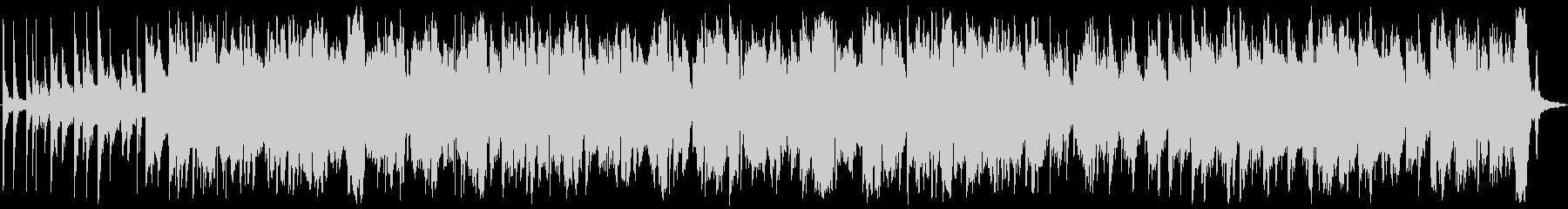 ピアノ中心の幻想的BGMの未再生の波形