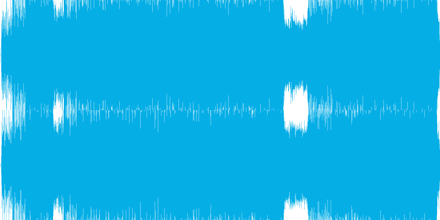 青色をイメージした爽やかな、ポップトラ…の再生済みの波形