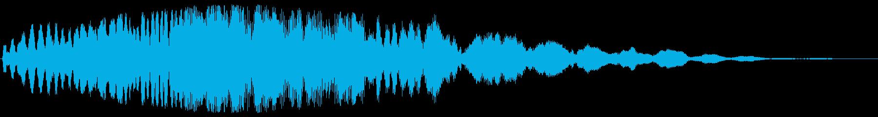 ゲーム 戦いの始まりで武器を出す音の再生済みの波形