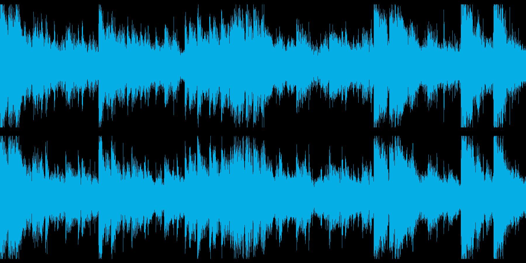 本物のサロド(シタールに似ている)...の再生済みの波形