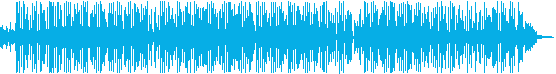 Avant-garde hip hop type beat's reproduced waveform