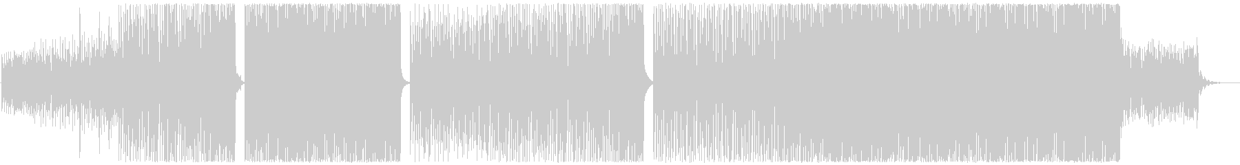ハウス-EDM-PV-ポジティブ-観光の未再生の波形