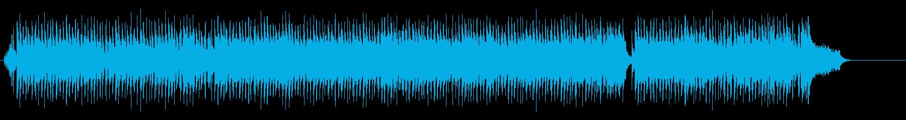 親しみやすさ漂うのびのびヒューマンの再生済みの波形