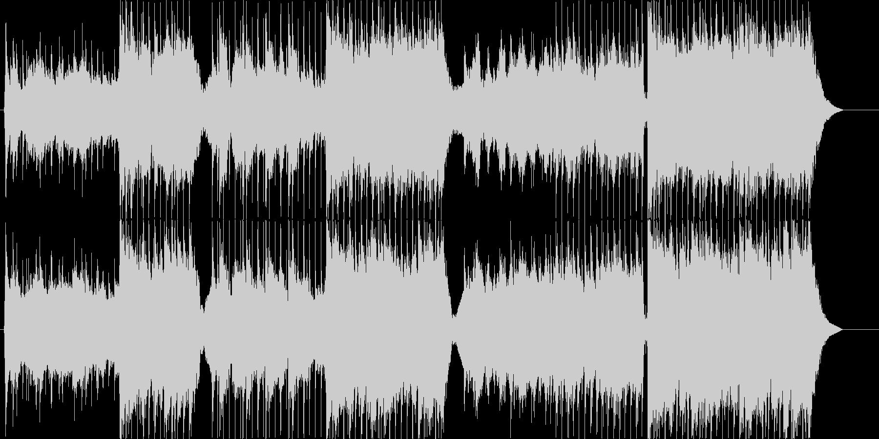 感情的なメロディーとメランコリック...の未再生の波形