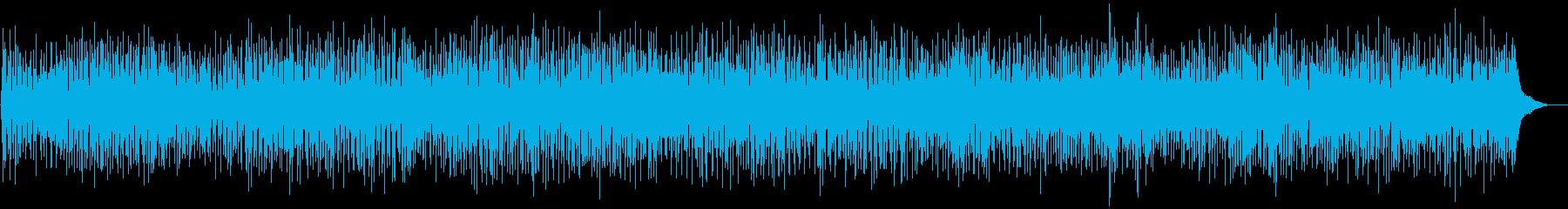 ほのぼのとしたカナディアンフォークの再生済みの波形