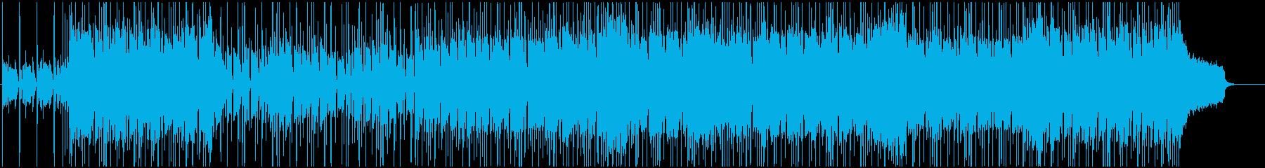 夏ぽい80年代シティポップ風フュージョンの再生済みの波形