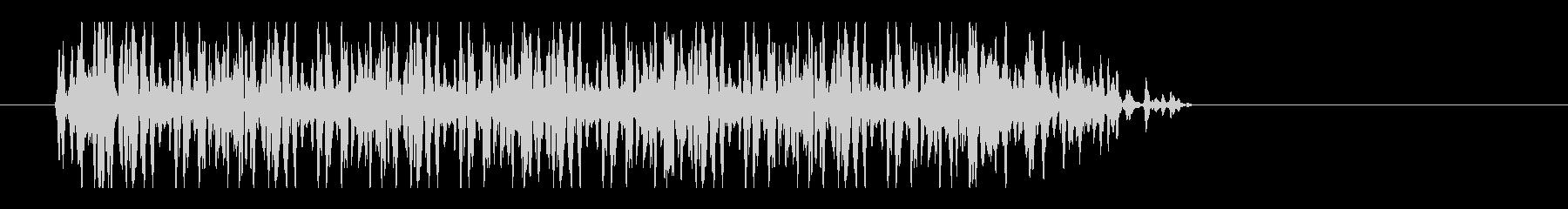 レーザー音-34-3の未再生の波形