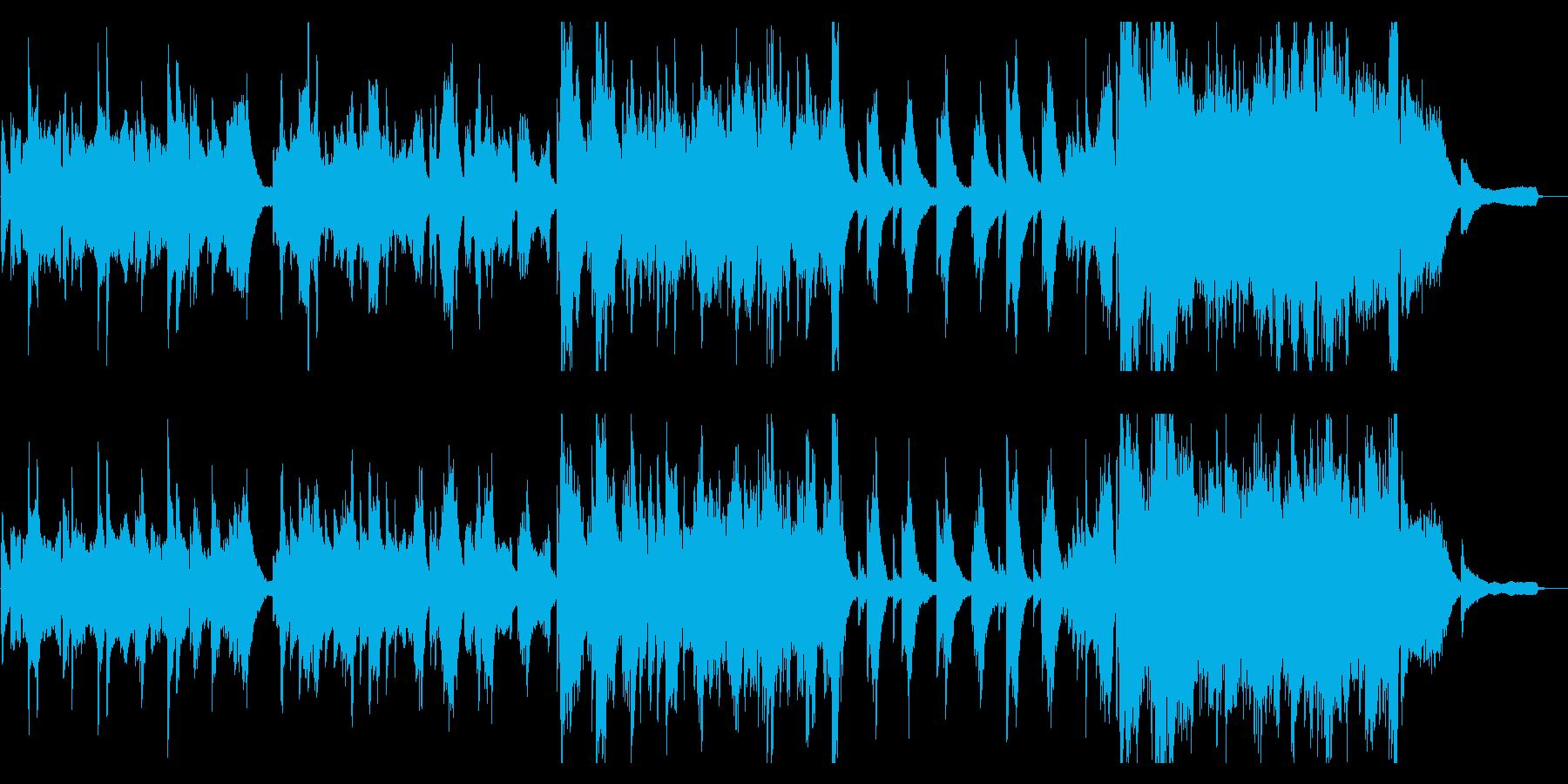 和風 バラード・伸びやかな二胡の再生済みの波形
