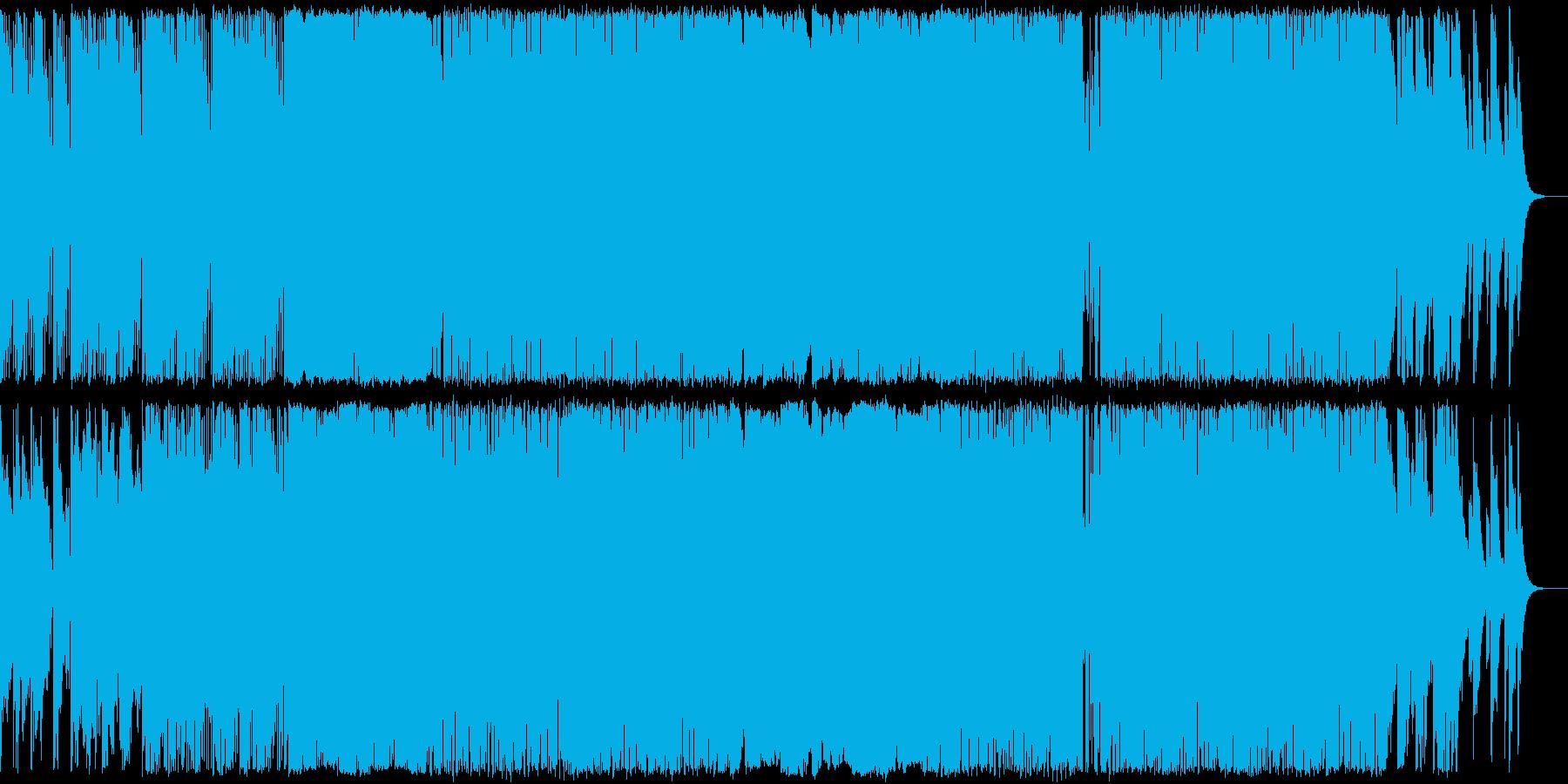 チルアウトなサンセットビーチに合うEDMの再生済みの波形
