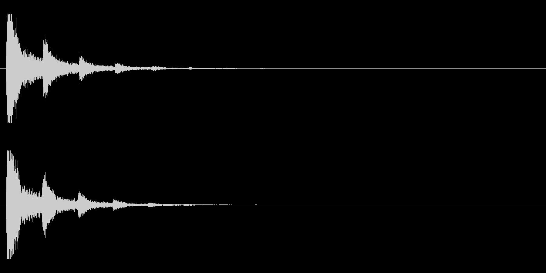 レーザー音-89-2の未再生の波形