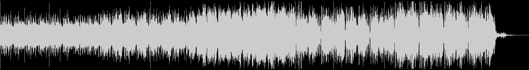 スタイリッシュ、近未来系BGMの未再生の波形
