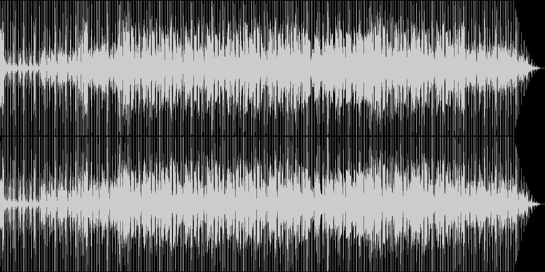 サックス入りファンキーなスムースジャズの未再生の波形