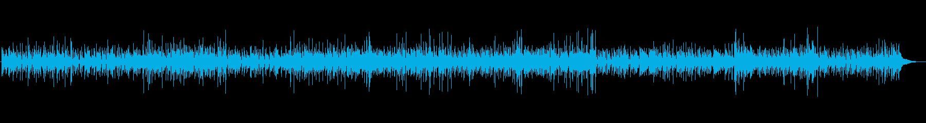 お洒落なカフェミュージックの再生済みの波形