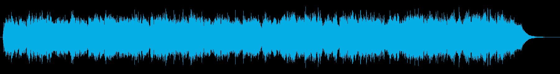 幻想的ファンタジーな笛旋律のケルト風音楽の再生済みの波形