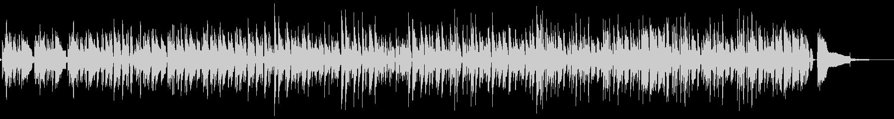 ■ピアノ・ウッドベース・ジャズ・しっとりの未再生の波形