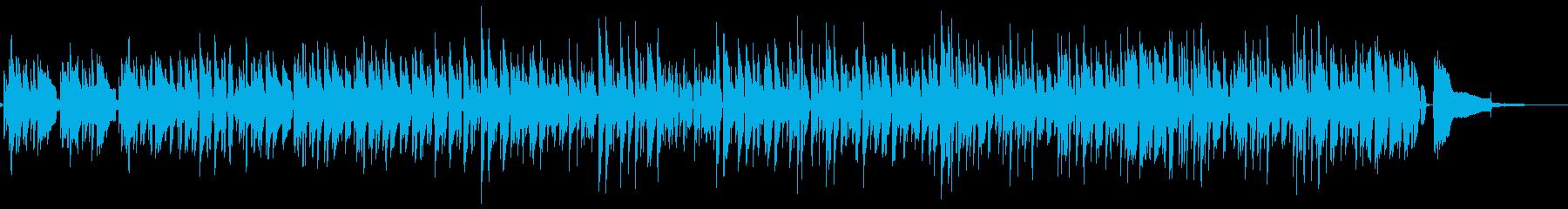 ■ピアノ・ウッドベース・ジャズ・しっとりの再生済みの波形