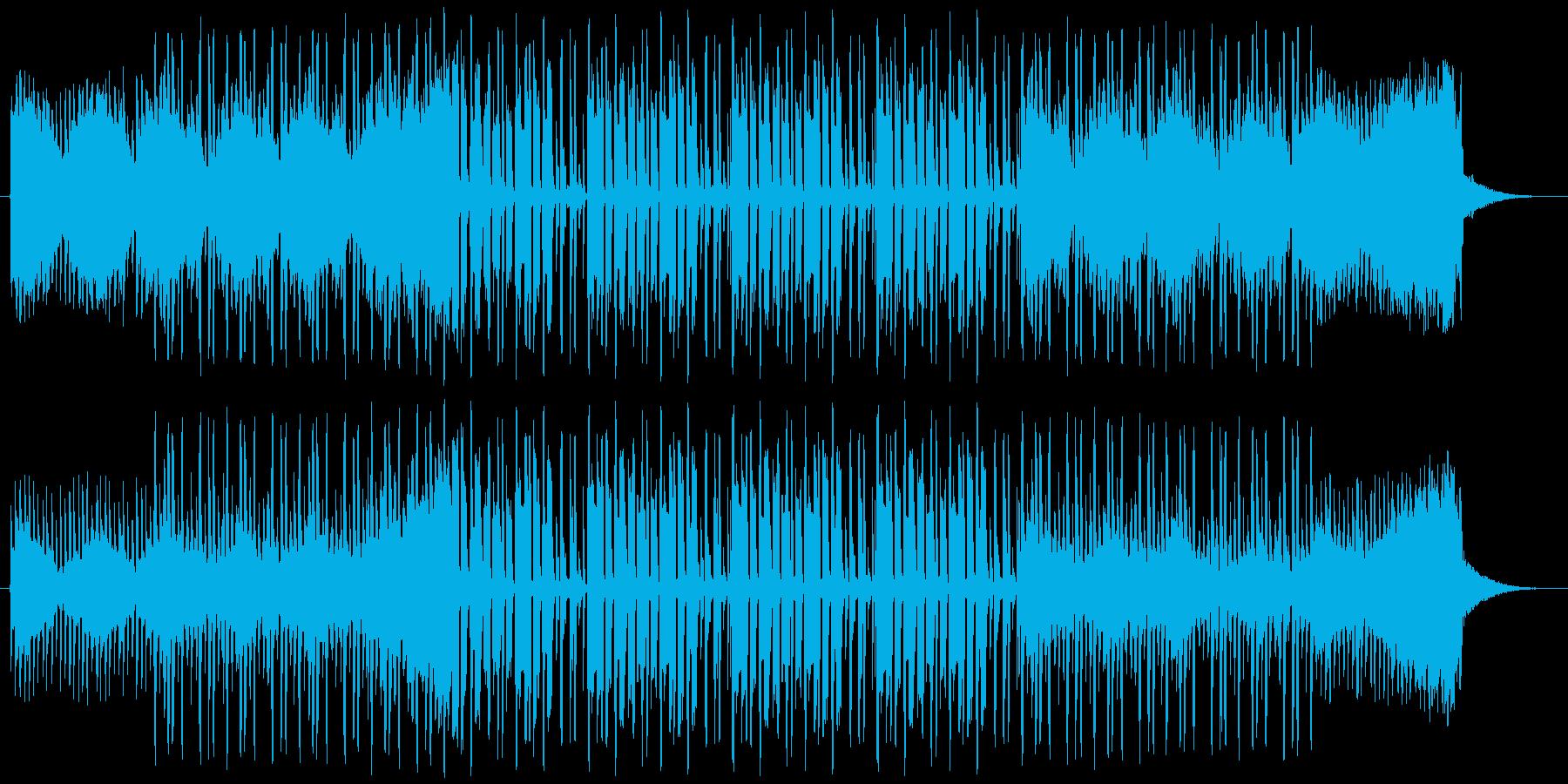クールでグルーヴィーなホップホップ...の再生済みの波形