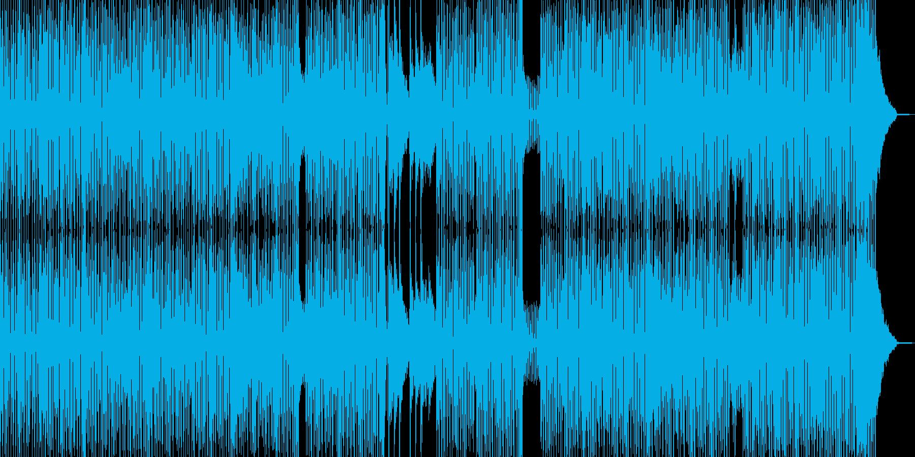 横スクロールゲームのようなコミカルR&Bの再生済みの波形