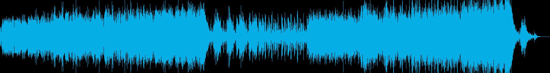 ラウンジ風音楽ーSatin nightの再生済みの波形