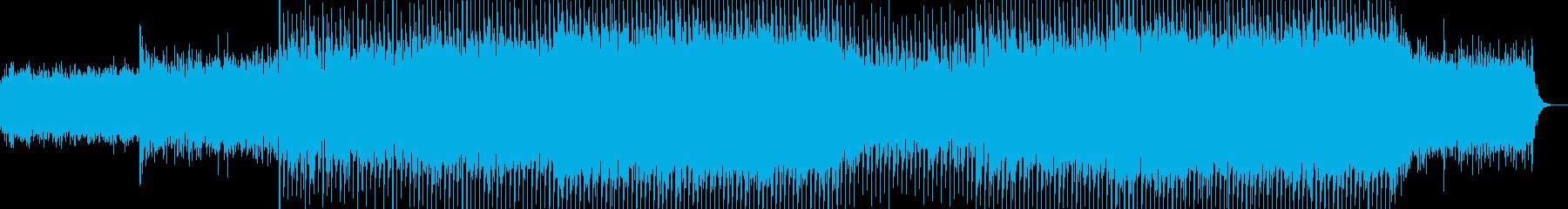 EDMポップで明るいクラブ系-39の再生済みの波形