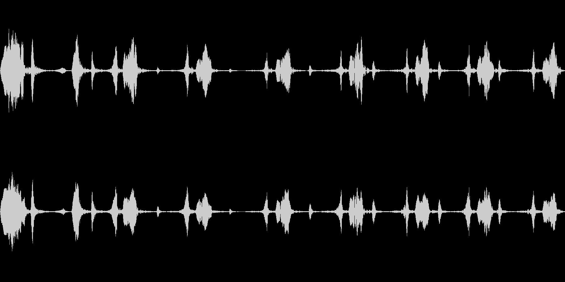キビタキのさえずり(明るく大きな声)の未再生の波形