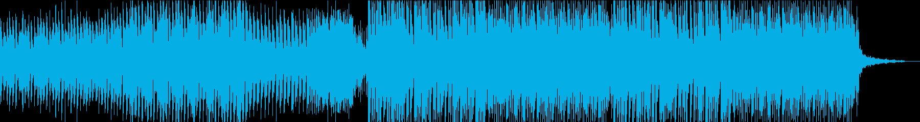 近未来的な映像に合うフューチャーハウスの再生済みの波形