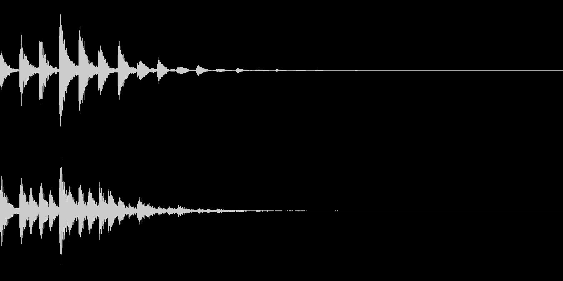 ピポポパ(宇宙/癒し系/綺麗/回復の未再生の波形