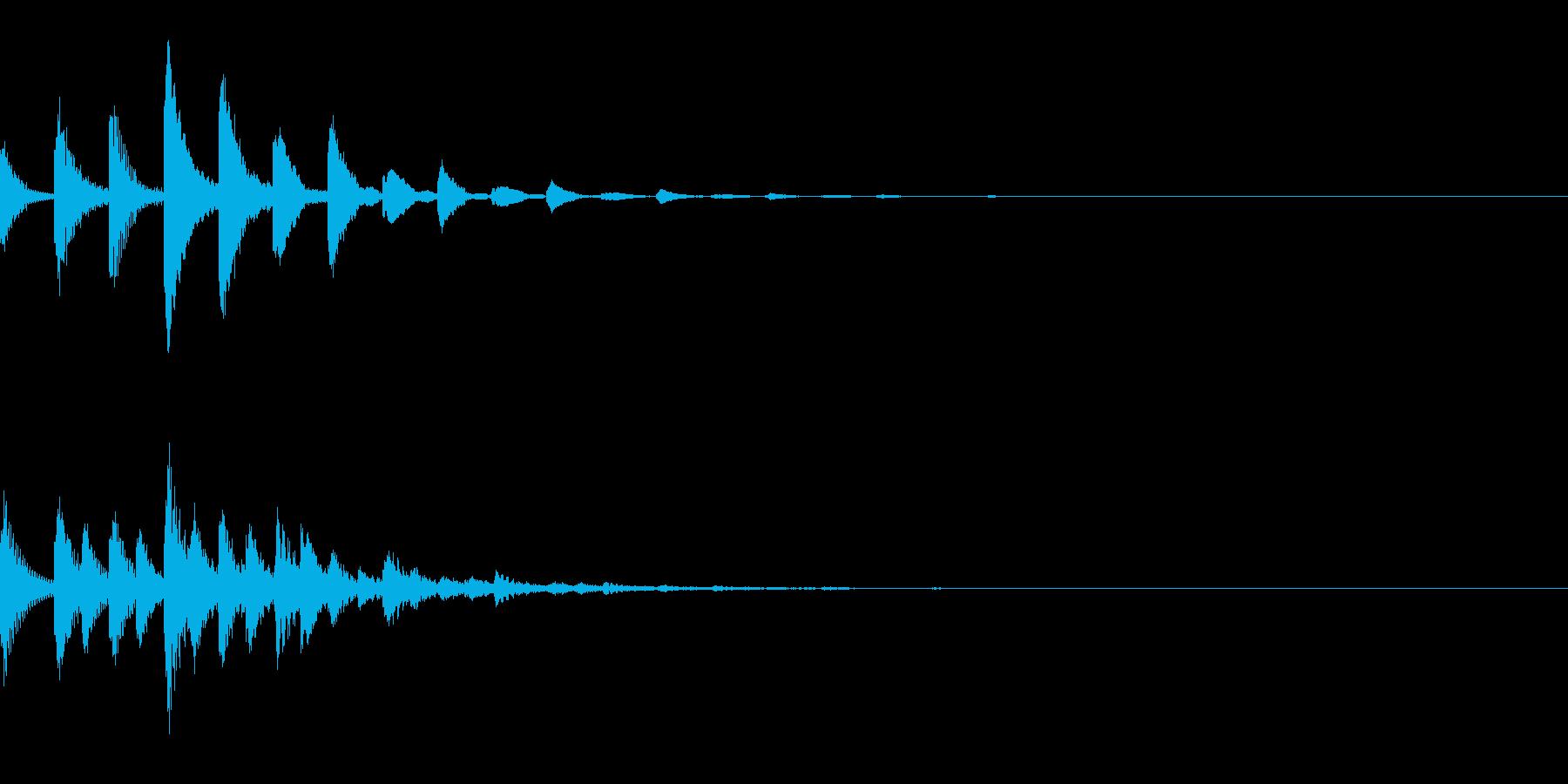 ピポポパ(宇宙/癒し系/綺麗/回復の再生済みの波形