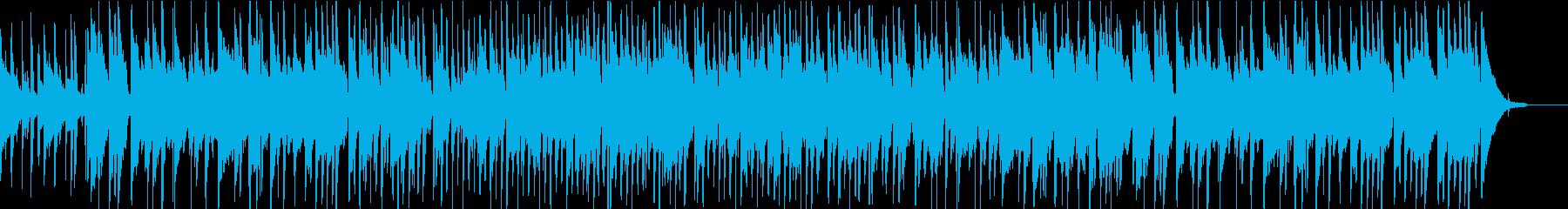 哀愁漂う渋めのミディアムジャズブルースの再生済みの波形