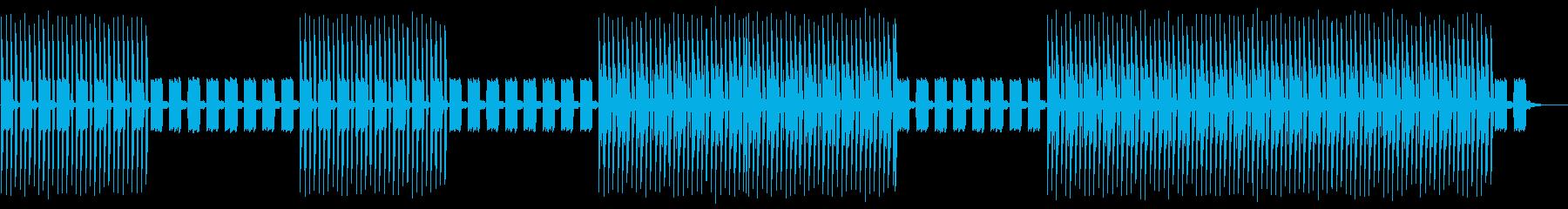 繰り返します。退屈な。ローダウンビ...の再生済みの波形