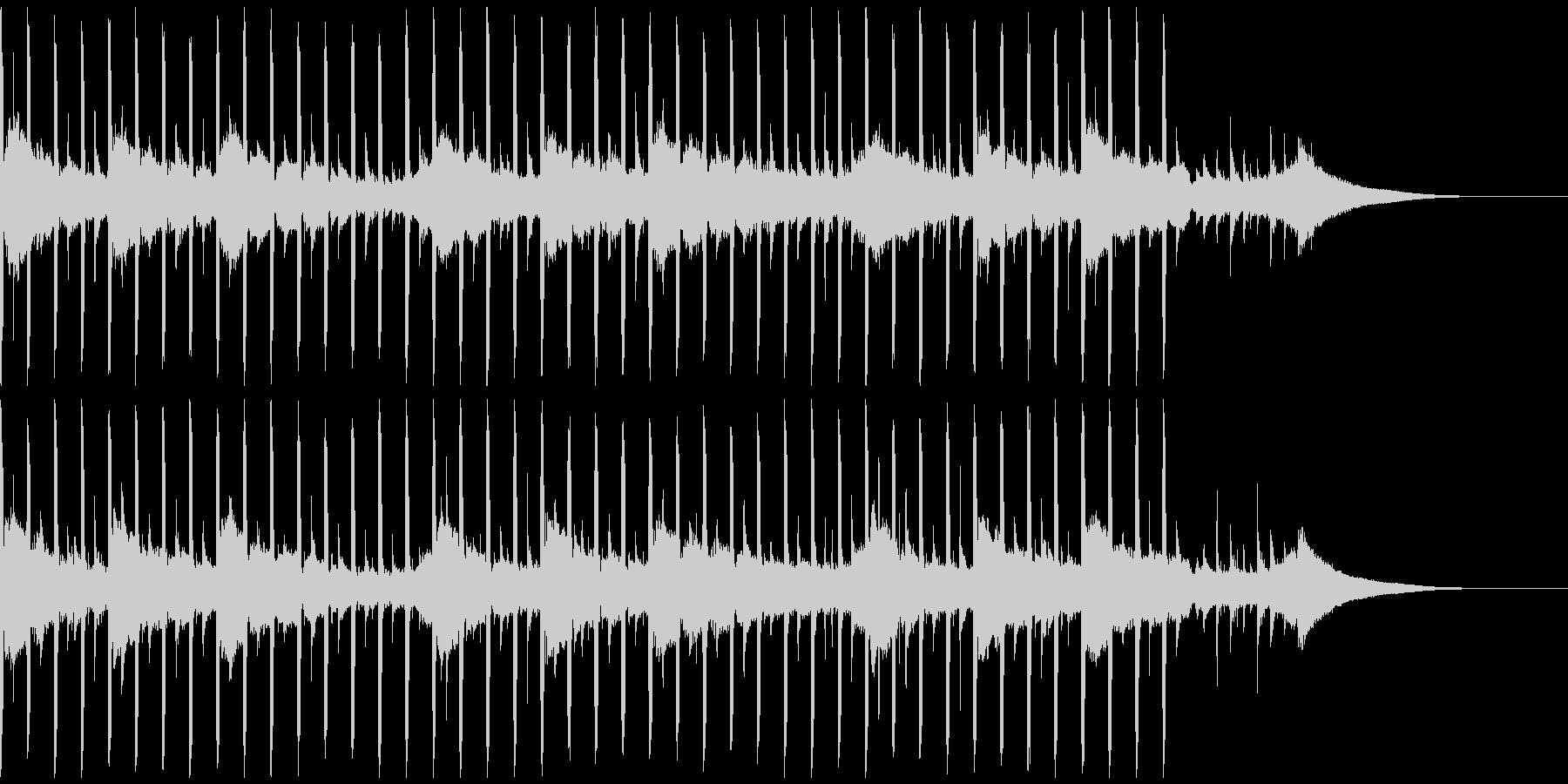 動機付けインタビュー(30秒)の未再生の波形