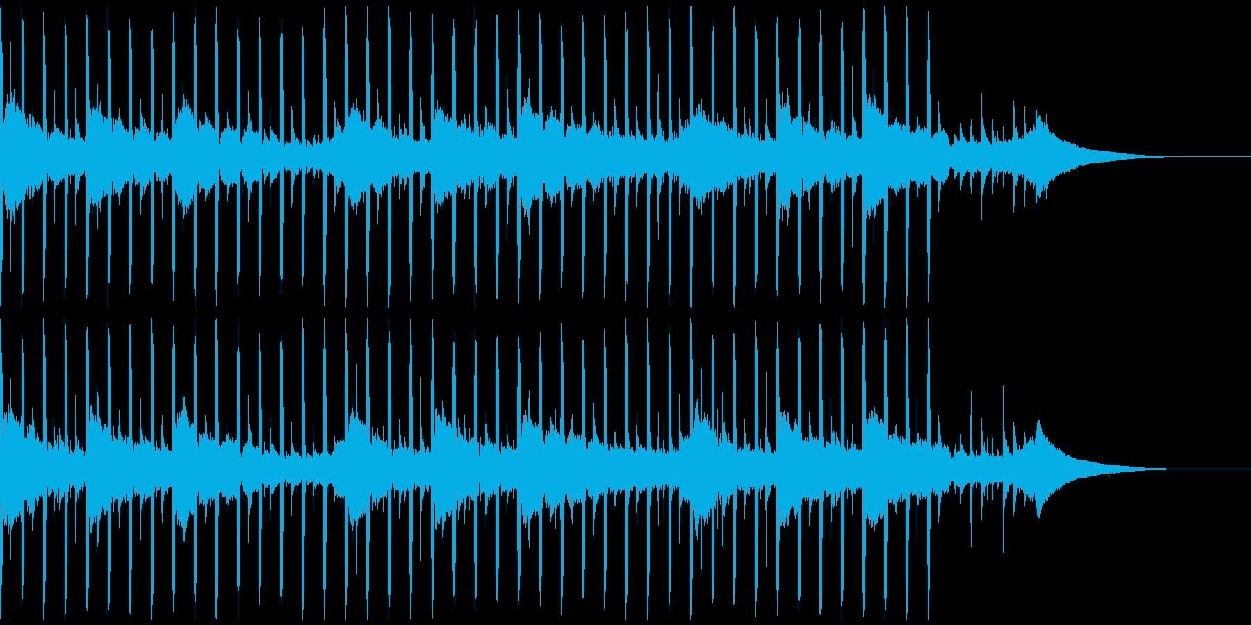 動機付けインタビュー(30秒)の再生済みの波形