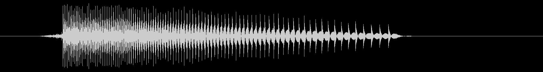ゲーム(ファミコン風)レーザー音_024の未再生の波形