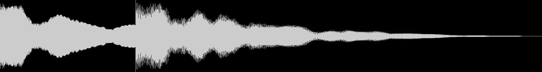 キンコーンの未再生の波形