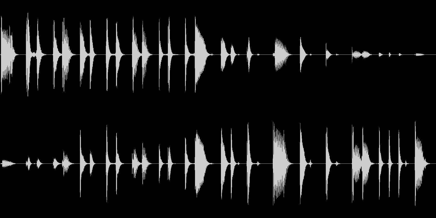 ピロリン (透明感のある響き)の未再生の波形
