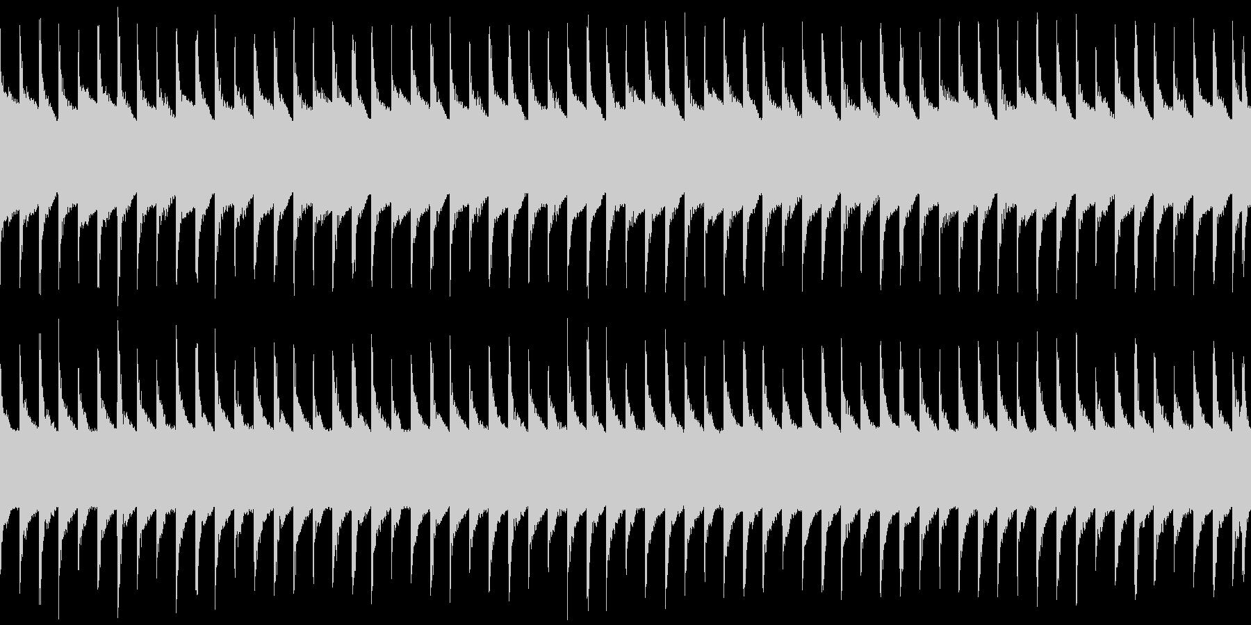 マップ画面・ロボットループ・単調シンセの未再生の波形