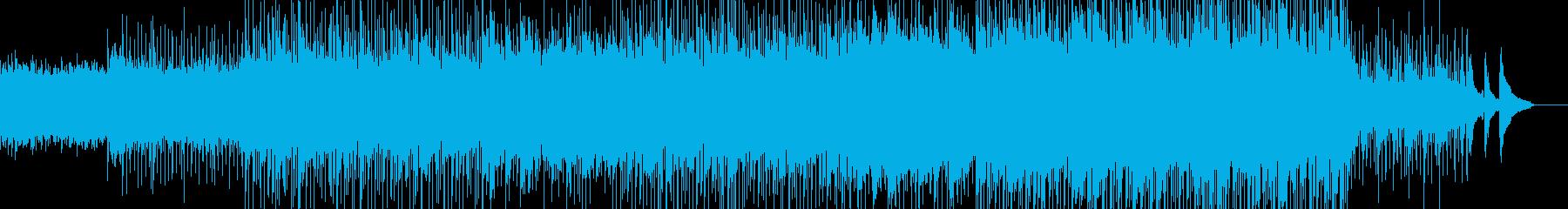 小さく可愛く、輝いて頑張っている曲の再生済みの波形